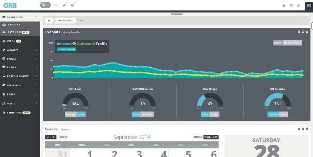 ORB Powerful Admin Dashboard + FrontEnd