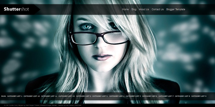 Shutter Shot Blogger Template