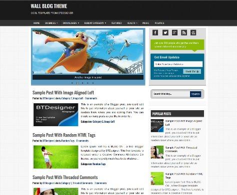 Wall Blog