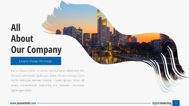 Digital Marketing Google Slide