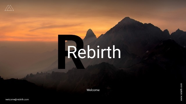Rebirth Google Slide Template