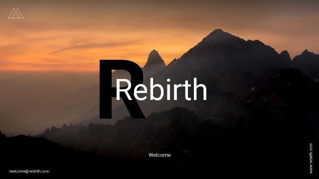 Rebirth Google Slide Template