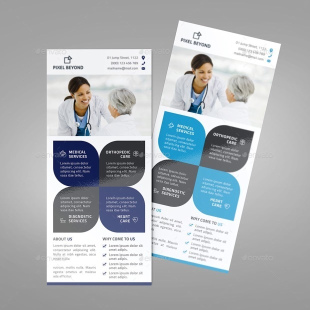 Medical Rack Card