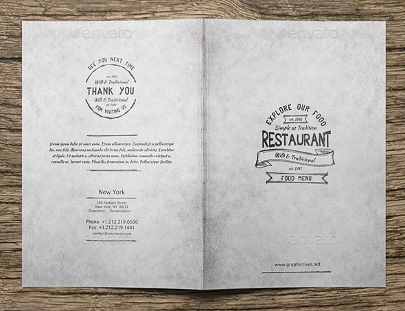15  free and premium restaurant menu templates