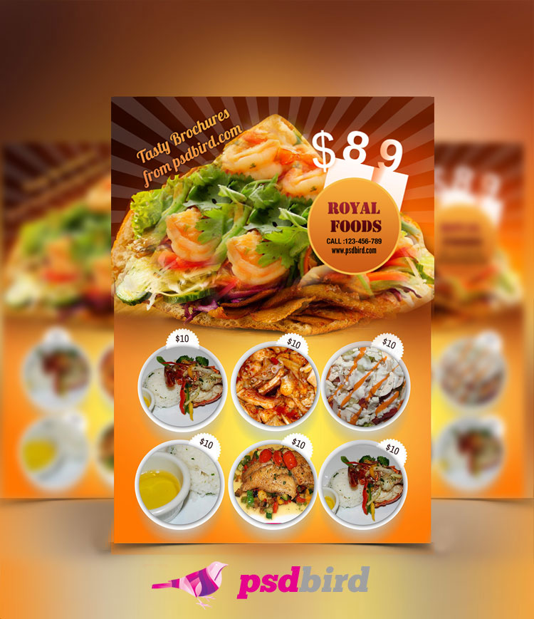 Free Restaurant Menu Templates PSD