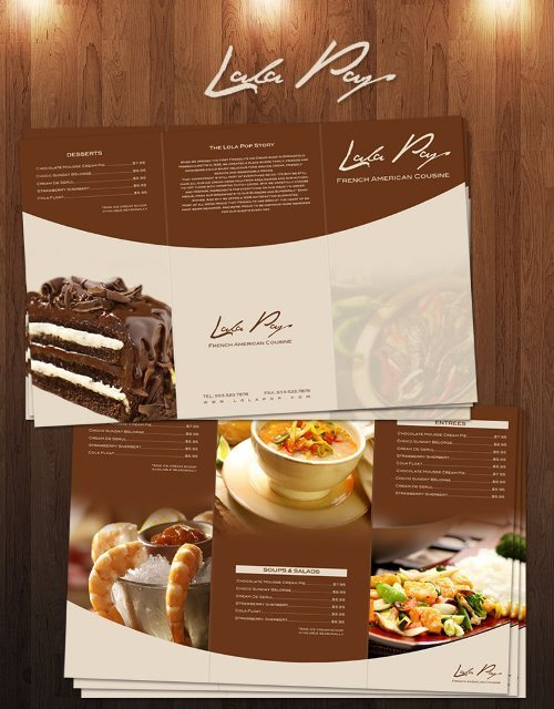 Free Lola Pop Restaurant Menu