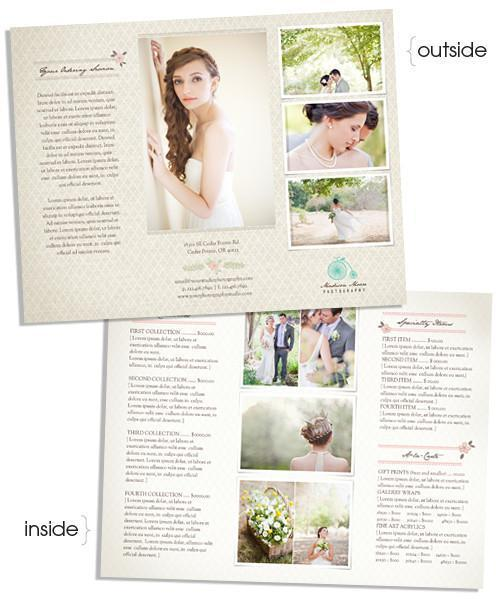 Bella Prices Tri-Fold Sell Sheet Template