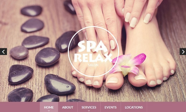 Spa Accessories One Page Drupal Theme