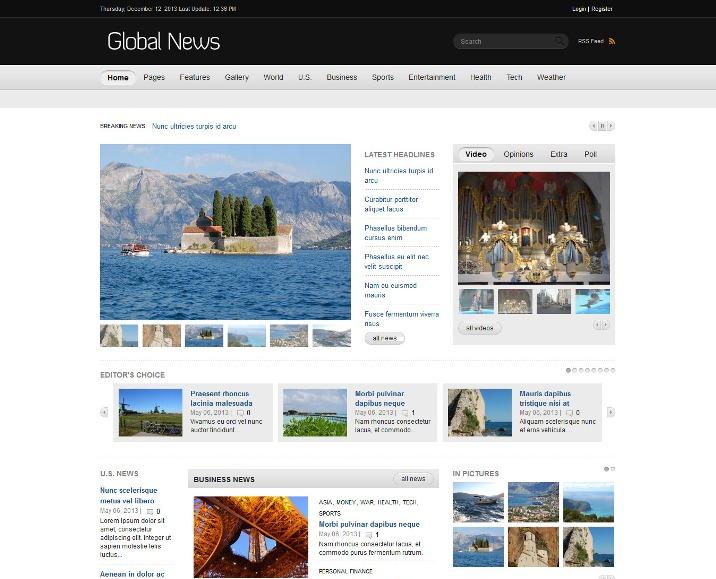 Global News Portal