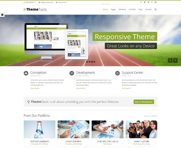 105+ Best Free and Premium Drupal Themes - Webprecis