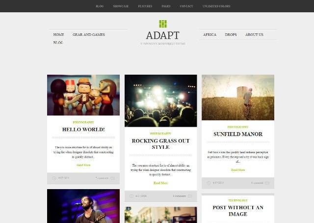 Adapt Blogger Template for Photographers