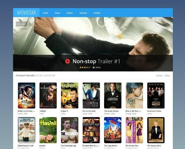 Movieism Entertainment Blogger Template