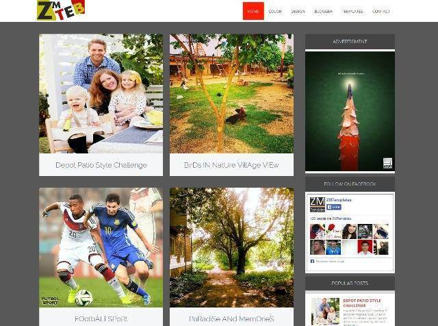 ZM Tab Responsive Blogger Blog Theme