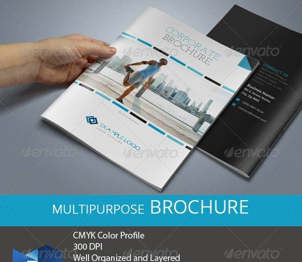 14 Pages Business Brochure