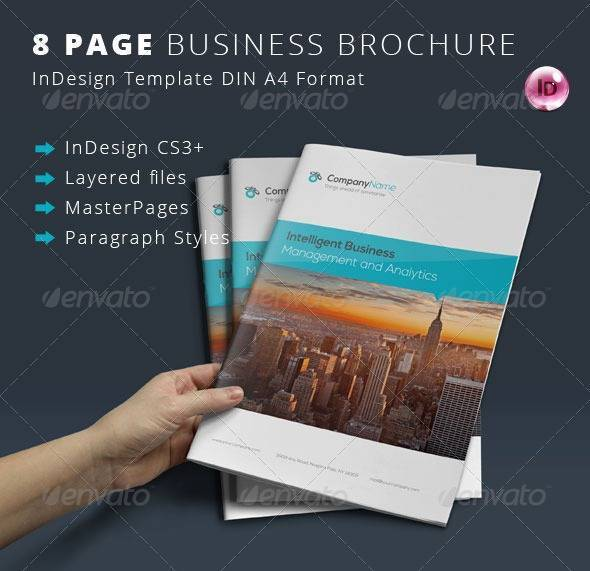 8 Page Corporate Brochure