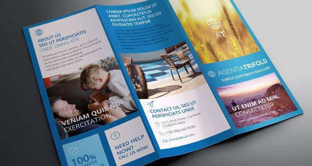 Agentia Tri Fold Brochure Template