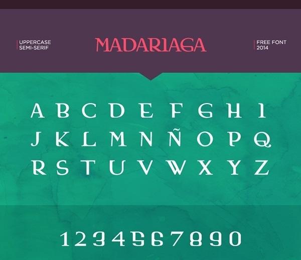 Madariaga Free Font