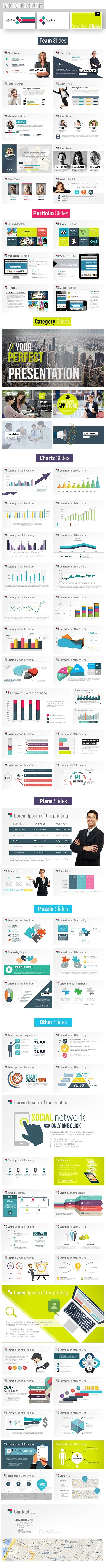 Fresh Digital Slides - Creative Powerpoint Template
