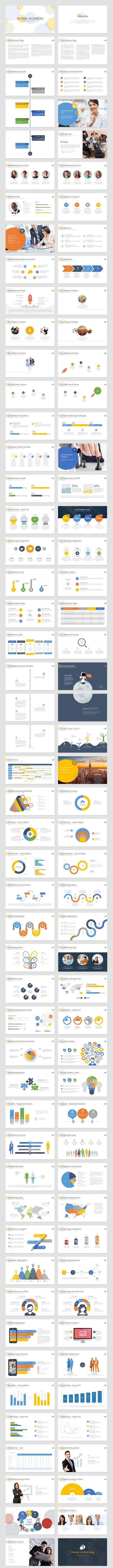 Global Business Multipurpose Presentation Template
