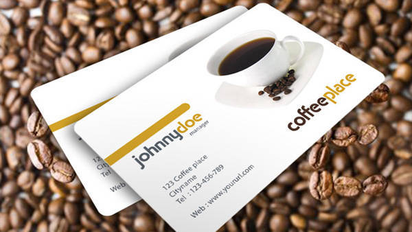 Coffeeplace Business Cards