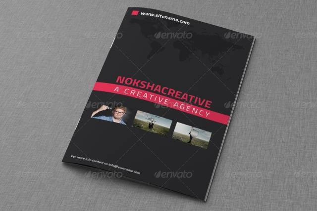 Corporate Bi Fold Brochure Template Vol-1