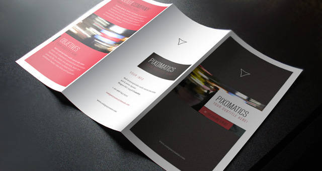Corporate Tri Fold Brochure Template 2