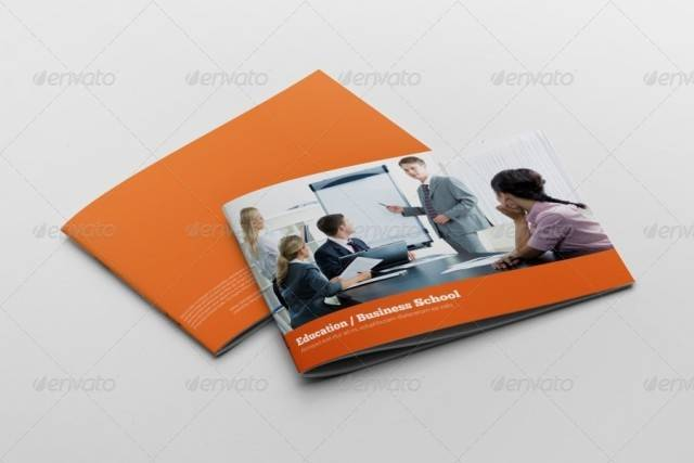 Education Business Brochure Template