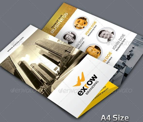 Exrow_Tri-fold Corporate Business Brochure