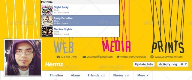 Creative Portfolio Facebook Cover