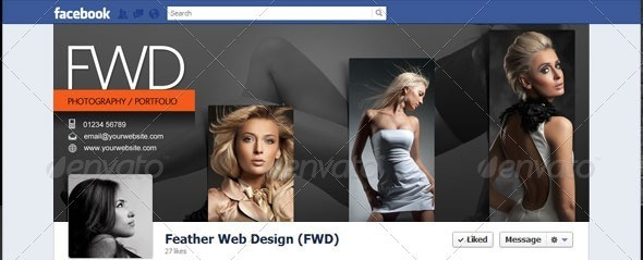 Facebook Timeline Cover - Photography / Portfolio