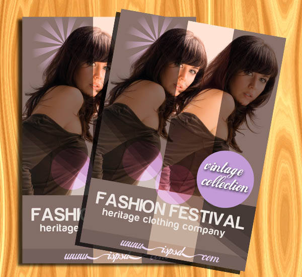 Fashion Brochures PSD (Free)