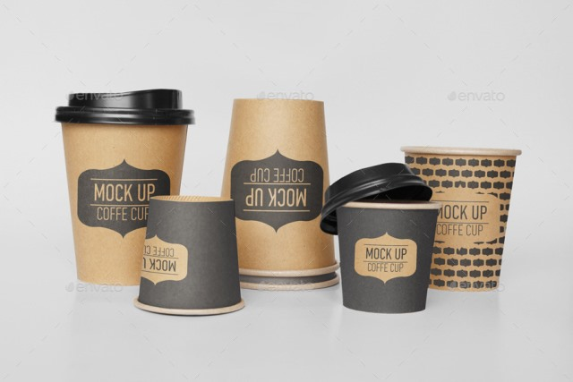 Coffee Cup Mock-Up Bundle