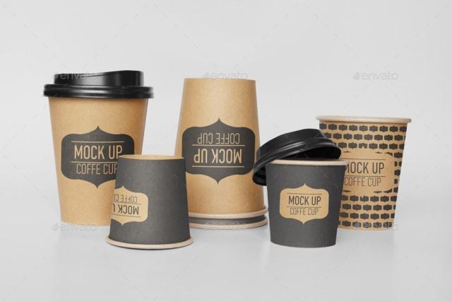 Coffee Cup Mock-Up Bundle