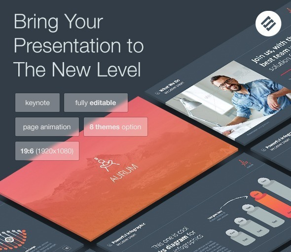 Aurum - Agency Keynote Template