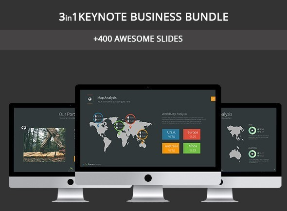 Business 3in1 Keynote Bundle