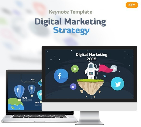 Digital Marketing Strategy Keynote Template