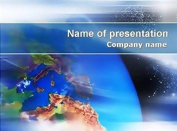 Earth Free Keynote template