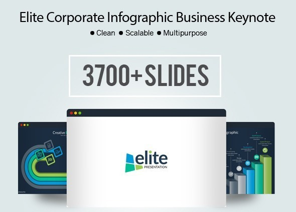 Elite - Multipurpose Business Infographic Keynote