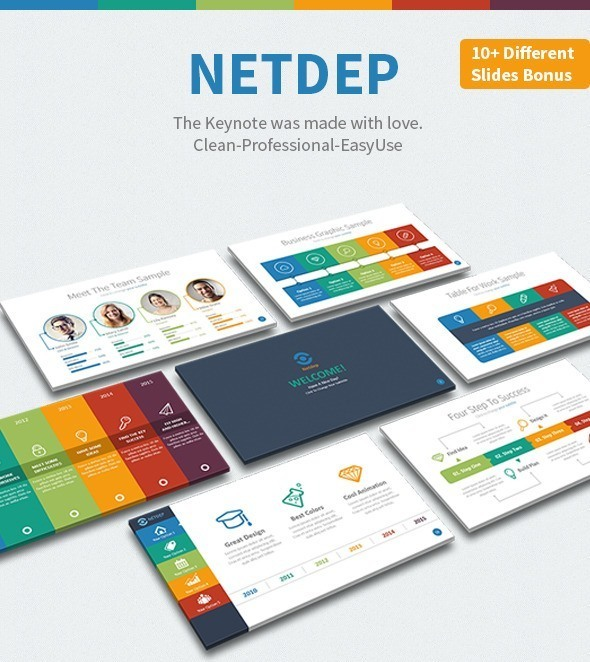 Netdep - Multipurpose Keynote Template