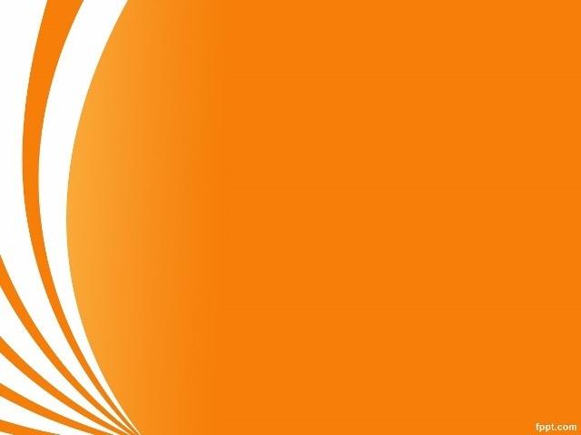 Orange Curve Free Keynote Template