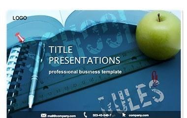 School Knowledge Keynote Template
