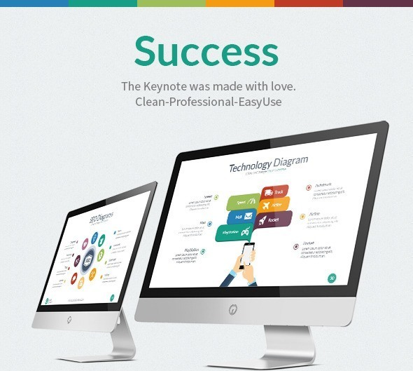 Success Business Keynote Template