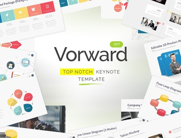 Vorward - Keynote Template