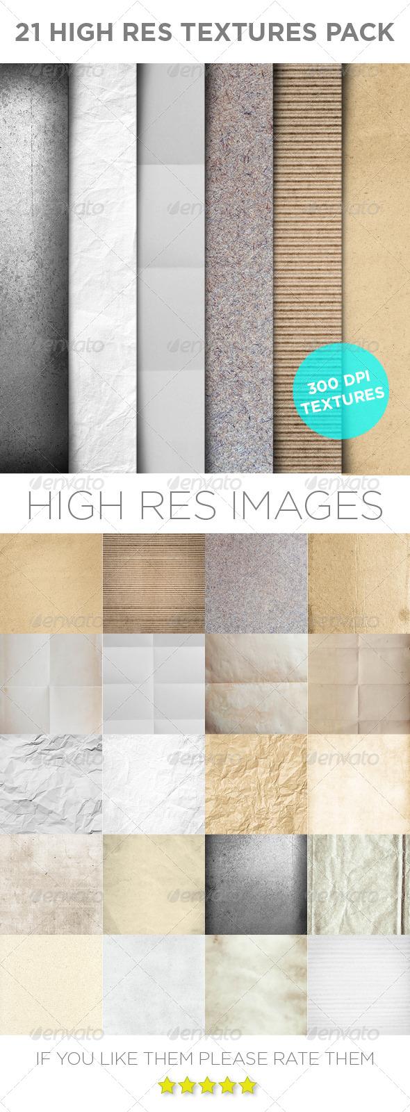 21 Paper & Card Textures
