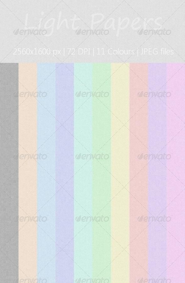 Light Paper Texture Pack
