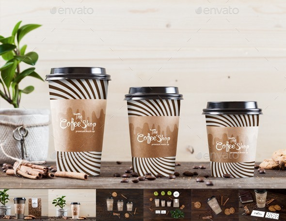 Coffee Collection Branding Mock-Up's