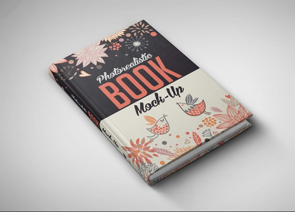 Cook Book Cover Up : Book cover psd mockup templates webprecis