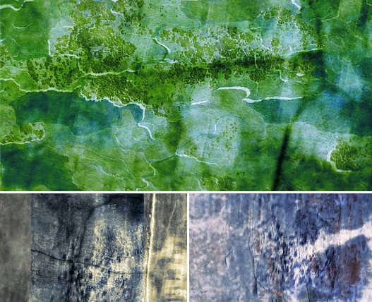 Green Grunge Textures