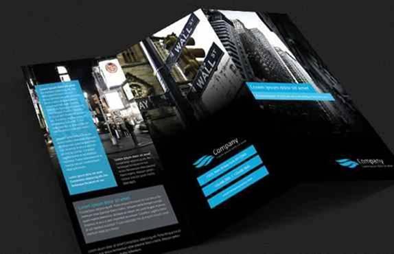 Free Modern Tri-Fold Brochure Design Template