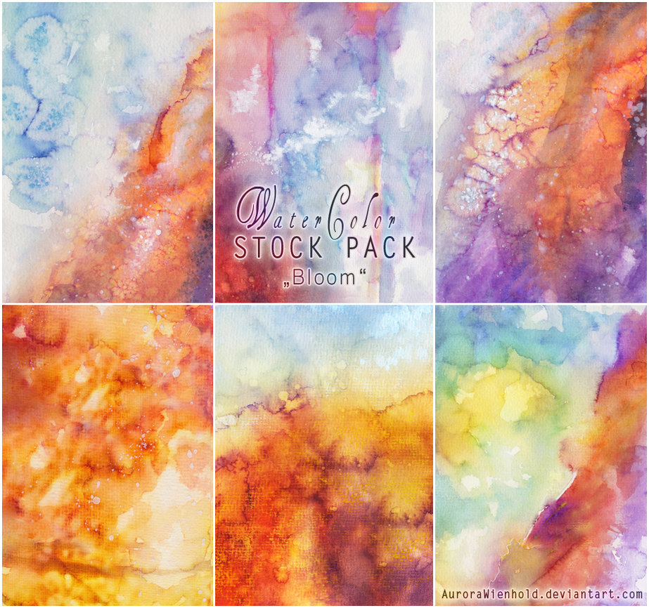 Watercolor Stock Pack 2 Bloom